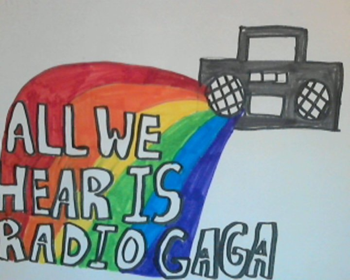 Radio Ga Ga by Queen via Deviant Art