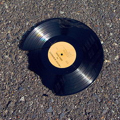 "Broken record of ""I believe in miracles"" by Ian Crowther via Flickr"